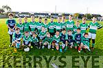 The Killarney Legion U10's taking part in the 5th Annual John Lynch Memorial football tournament in Caherslea on Saturday.
