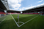 Feature Blick in die Leere OPEL Arena ohne Zuschauer Eckfahne<br /> <br /> <br /> Sport: nphgm001: Fussball: 1. Bundesliga: Saison 19/20: 33. Spieltag: 1. FSV Mainz 05 vs SV Werder Bremen 20.06.2020<br /> <br /> Foto: gumzmedia/nordphoto/POOL <br /> <br /> DFL regulations prohibit any use of photographs as image sequences and/or quasi-video.<br /> EDITORIAL USE ONLY<br /> National and international News-Agencies OUT.