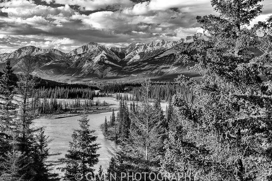 Athabasca River, Jasper National Park, Canada