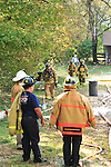 Jefferson & Mifflin Township Fire Department Training Fire, 10 08 2007