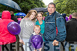 Kirsty, Debra, Jake and Kevin Pierce, all from Limerick, pictured at the Balloon release in Tralee Town Park on Sunday afternoon last.