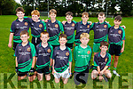 The Churchill U12 team taking part in the Eric Mason Memorial Tournament held in Ballymac GAA club on Saturday.