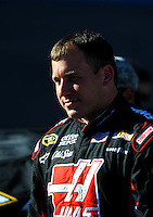 Apr 17, 2009; Avondale, AZ, USA; NASCAR Sprint Cup Series driver Ryan Newman during qualifying for the Subway Fresh Fit 500 at Phoenix International Raceway. Mandatory Credit: Mark J. Rebilas-