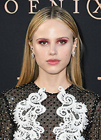 "04 June 2019 - Hollywood, California - Halston Sage. ""Dark Phoenix"" Los Angeles Premiere held at TCL Chinese Theatre. <br /> CAP/ADM/BT<br /> ©BT/ADM/Capital Pictures"