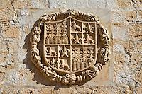 Spain, Andalusia, Province Almería, Vélez Blanco: Coat of Arms of Marques de Los Velez | Spanien, Andalusien, Provinz Almería, Vélez Blanco: Wappen der Marques de Los Velez