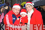 Pictured at the Santa parade in Listowel on Sunday were l-r: William Noel and Catherine Stack (Listowel).
