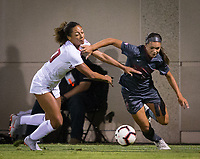 Stanford, CA - October 3, 2019: Sophia Smith at Laird Q Cagan Stadium. The Stanford Cardinal beat the Washington State Cougars 5-0.