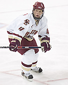 Mike Brennan - The Boston College Eagles completed a shutout sweep of the University of Vermont Catamounts on Saturday, January 21, 2006 by defeating Vermont 3-0 at Conte Forum in Chestnut Hill, MA.