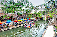 The river walk in dowtown San Antonio  is a great place to go and enjoy a nice weekend you can stay at the many hotels along the river walk and walk along and enjoy all the great places to eat with dinning along the river under a colorful umbrella or shop or just people watch.  The Alamo is within a block of the river walk the Tower of Americas or hemisphere as some call it is also nearby.