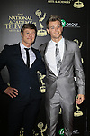 BEVERLY HILLS - JUN 22: Guy Wilson, Chad Duell at The 41st Annual Daytime Emmy Awards Press Room at The Beverly Hilton Hotel on June 22, 2014 in Beverly Hills, California
