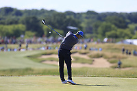 Martin Kaymer (GER) tees off the 7th tee during Friday's Round 2 of the 117th U.S. Open Championship 2017 held at Erin Hills, Erin, Wisconsin, USA. 16th June 2017.<br /> Picture: Eoin Clarke | Golffile<br /> <br /> <br /> All photos usage must carry mandatory copyright credit (&copy; Golffile | Eoin Clarke)