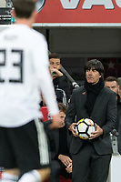 Germany Manager Joachim Low during the International Friendly match between England and Germany at Wembley Stadium, London, England on 10 November 2017. Photo by Andy Rowland.