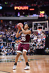 DALLAS, TX - MARCH 31:  Victoria Vivians #35 of the Mississippi State Lady Bulldogs shoots during the 2017 Women's Final Four at American Airlines Center on March 31, 2017 in Dallas, Texas. (Photo by Justin Tafoya/NCAA Photos via Getty Images)
