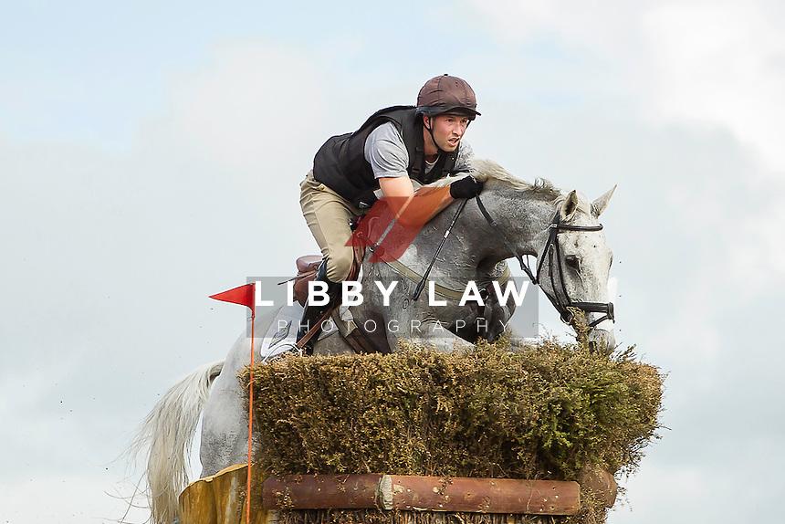 NZL-Simon Gordon (FLETCH.COM) INTERIM-3RD: CIC3* CROSS COUNTRY: 2014 NZL-BNZ Kihikihi International Horse Trial (Saturday 12 April) CREDIT: Libby Law COPYRIGHT: LIBBY LAW PHOTOGRAPHY - NZL