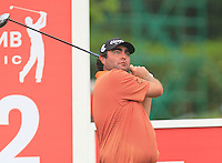 Steven Bowditch (AUS) on the 12th tee during Round 3 of the CIMB Classic in the Kuala Lumpur Golf & Country Club on Saturday 1st November 2014.<br /> Picture:  Thos Caffrey / www.golffile.ie