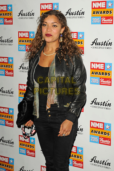 LONDON, ENGLAND - FEBRUARY 18: Antonia Thomas attending the NME Awards at Brixton Academy on February 18 2015 in London, England.<br /> CAP/MAR<br /> &copy; Martin Harris/Capital Pictures