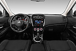 Stock photo of straight dashboard view of 2016 Citroen C4-Aircross Feel-Edition 5 Door Suv Dashboard
