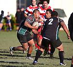 Div1 Rugby Waimea v Kahurangi,Saturday 31st  May 2014, Jubilee Park,Richmond, Nelson, New Zealand<br /> Photo: Evan Barnes/shuttersport.co.nz
