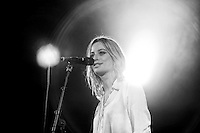 INVERCARGILL, NEW ZEALAND - NOVEMBER 22:  ( EDITORS NOTE: This image has been processed using digital filters) Gin Wigmore performs on stage during her Blood To Bone NZ Tour  at the Civic Theatre on November 22, 2015 in Invercargill, New Zealand  (Photo by Dianne Manson/Getty Images) *** Local Caption *** Gin Wigmore