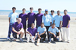 Adamstown Cricket Club at the Cricket Tournament on Laytown Beach...Picture Jenny Matthews/Newsfile.ie