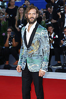 VENICE, ITALY - SEPTEMBER 05: Alessandro Borghi attends 'Mother' Red Carpet during 74th Venice Film Festival at Palazzo Del Cinema on September 5, 2017 in Venice, Italy. (Mark Cape/insidefoto)
