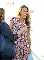 NEW YORK, NY-July 21: Blake Lively at Target Cat & Jack Launch Celebration at Pier 6 at Brooklyn Bridge Park - Brooklyn, New York  July 21, 2016. Credit:RW/MediaPunch