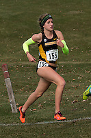 Mizzou freshman Karissa Schweizer runs to a seventh-place finish and national championships berth in 20:25 in the women's 6k at the NCAA Division I Midwest Regional cross country championships in Peoria, Il. Friday, November 14.