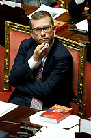Minister of South Lorenzo Provenzano<br /> Rome September 10th 2019. Senate. Discussion and Trust vote at the new Government. <br /> Foto  Samantha Zucchi Insidefoto