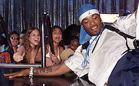 Method Man lays on the stage during The Source Hip-Hop Music Awards 2001 at the Jackie Gleason Theater in Miami Beach, Florida.  8/20/01  Photo by Scott Gries/ImageDirect