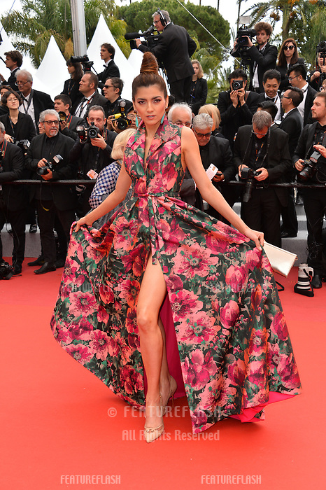 "CANNES, FRANCE. May 20, 2019: Blanca Blanco at the gala premiere for ""La Belle Epoque"" at the Festival de Cannes.<br /> Picture: Paul Smith / Featureflash"