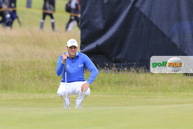 Martin Kaymer (GER) during Sunday's Round 3 of the 144th Open Championship, St Andrews Old Course, St Andrews, Fife, Scotland. 19/07/2015.<br /> Picture Eoin Clarke, www.golffile.ie