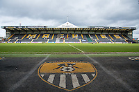 General view during the Sky Bet League 2 match between Notts County and Wycombe Wanderers at Meadow Lane, Nottingham, England on 28 March 2016. Photo by Andy Rowland.