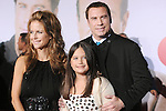 Kelly Preston, Ella Bleu Travolta and John Travolta at Disney's World Premiere of Old Dogs held at The El Capitan Theatre in Hollywood, California on November 09,2009                                                                   Copyright 2009 DVS / RockinExposures