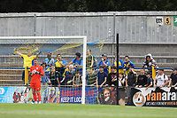 St Albans fans during St Albans City vs Stevenage, Friendly Match Football at Clarence Park on 13th July 2019