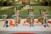 March 15, 2015, Netherlands, Rotterdam, TC Victoria, NOJK, trophys<br /> Photo: Tennisimages/Henk Koster