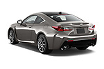 Car pictures of rear three quarter view of a 2018 Lexus RC F 3 Door Coupe angular rear