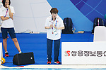Masayo Imura (JPN), <br /> AUGUST 29, 2018 - Artistic Swimming : <br /> Women's Team Technical Routine <br /> at Gelora Bung Karno Aquatic Center <br /> during the 2018 Jakarta Palembang Asian Games <br /> in Jakarta, Indonesia. <br /> (Photo by Naoki Morita/AFLO SPORT)