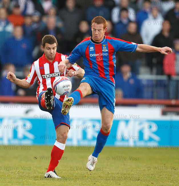Richard Foster and Adam Rooney