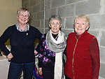 Maureen Wynne, Muireann Maguire and Jacinta Dillon pictured at the ceili at  Drumshallon forge. Photo:Colin Bell/pressphotos.ie
