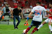 3rd March 2020; Beira-Rio Stadium, Porto Alegre, Rio Grande do Sul, Brazil; Libertadores Cup, Internacional versus Universidad Catolica; Internacional manager Eduardo Coudet