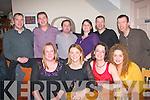 BIRTHDAY CELEBRATION: Maria Glavin, Kielduff, Tralee, (seated 2nd right) enjoying a special birthday celebration in Bella Bia restaurant, Ivy Terrace, Tralee, last Saturday night, seated l-r: Antoinette Glavin, Sara Doran, Maria Glavin and Olga Enright. Back l-r: Kevin Wiseman, Ronan Enright, Dermot Ferguson, Sinead Doran, Conor Murphy with John Doran.