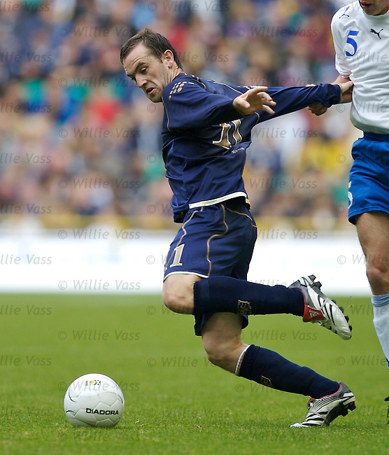 James McFadden, Scotland.stock season 2006-2007.pic willie vass