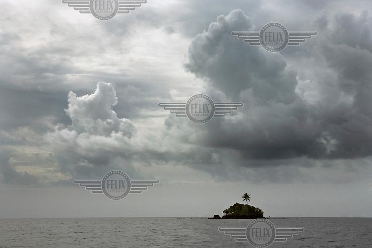 Island off the coast of Palau.