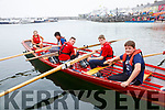 The Valentia U14 Boys crew who were undefeated all season claimed the final win at the Portmagee Regatta on Sunday pictured here l-r; Amy Lyne(cox), Dylan Kidd, Cian O'Dowde, Kevin O'Connor & Gearóid Healy.
