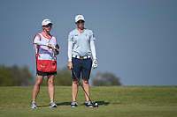 Alena Sharp (CAN) looks over her tee shot on 2 during the round 3 of the Volunteers of America Texas Classic, the Old American Golf Club, The Colony, Texas, USA. 10/5/2019.<br /> Picture: Golffile   Ken Murray<br /> <br /> <br /> All photo usage must carry mandatory copyright credit (© Golffile   Ken Murray)