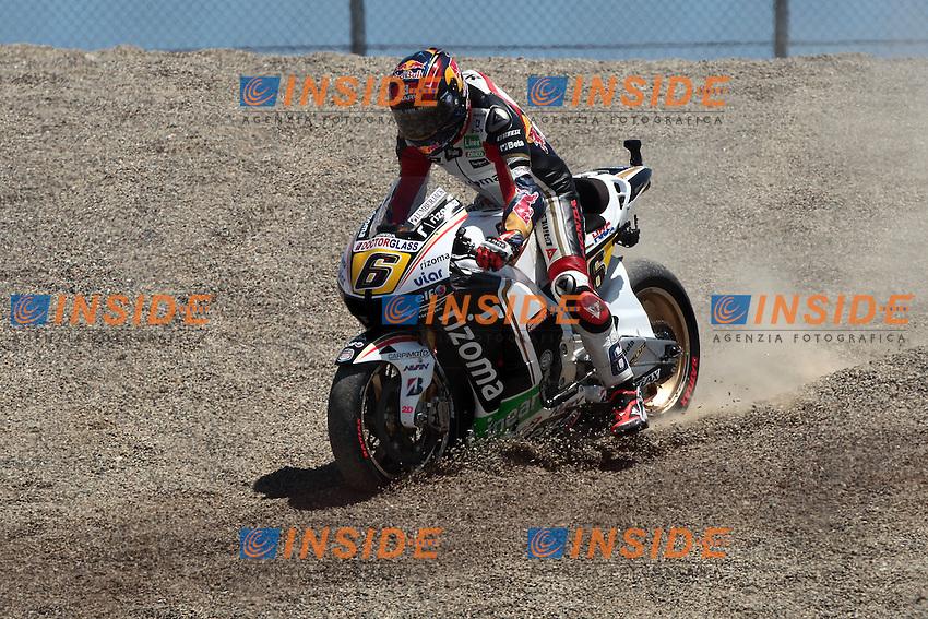 © Insidefoto/Semedia.28-07-2012 Laguna Seca (USA).Motogp - motogp.in the picture: Stefan Bradl - LCR Honda team