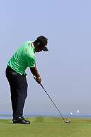Thongchai Jaidee (THA) during the third round of the NBO Open played at Al Mouj Golf, Muscat, Sultanate of Oman. <br /> 17/02/2018.<br /> Picture: Golffile | Phil Inglis<br /> <br /> <br /> All photo usage must carry mandatory copyright credit (&copy; Golffile | Phil Inglis)