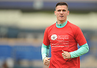 Blackburn Rovers' Darragh Lenihan during the pre-match warm-up <br /> <br /> Photographer Kevin Barnes/CameraSport<br /> <br /> The EFL Sky Bet Championship - Blackburn Rovers v Swansea City - Sunday 5th May 2019 - Ewood Park - Blackburn<br /> <br /> World Copyright © 2019 CameraSport. All rights reserved. 43 Linden Ave. Countesthorpe. Leicester. England. LE8 5PG - Tel: +44 (0) 116 277 4147 - admin@camerasport.com - www.camerasport.com