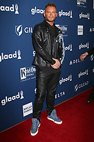 LOS ANGELES - APR 12:  August Getty at GLAAD Media Awards Los Angeles at Beverly Hilton Hotel on April 12, 2018 in Beverly Hills, CA