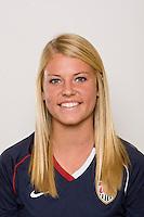 Alyson Birgel. U-17 USA Women's National Team head shots on September 16, 2008. Photo by Howard C. Smith/isiphotos.com